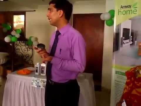 Amway Home Care Range , Interesting Demo With Important Tips Part Ii (hindi) video