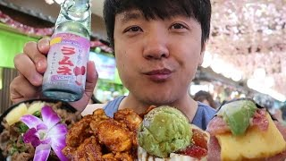 Japanese Food Court Tour in Honolulu Hawaii