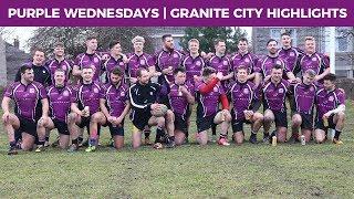 Purple Wednesdays 2017/18! | Granite City Highlights