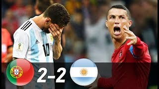 Portugal vs Argentina 2-2 | All Goals & Extended Highlights (Last Matches)
