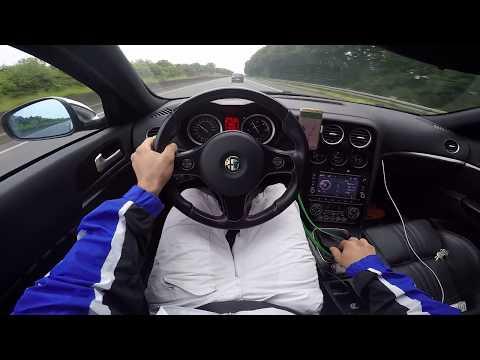 Speed Alfa Romeo 159 Ti 2.0 Jtdm Die Autobahn Deutschland Part 1