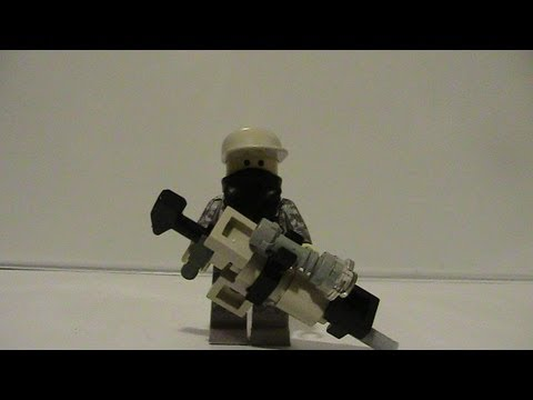 How To Make a Lego MW3 MSR (Sniper Rifle)