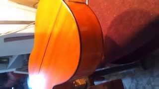 French Polishing A Guitar - Part 1