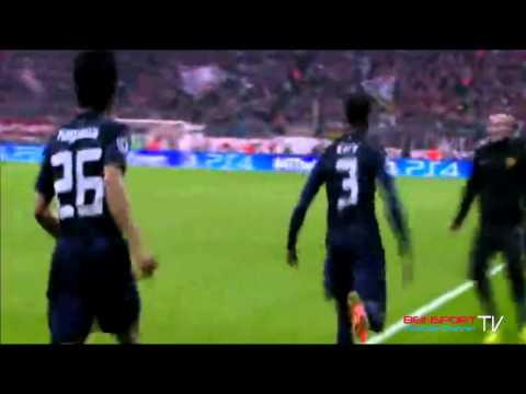 Bayern Munich vs Manchester United 2014 3-1 Evra Goal Champions League 09/04/2014