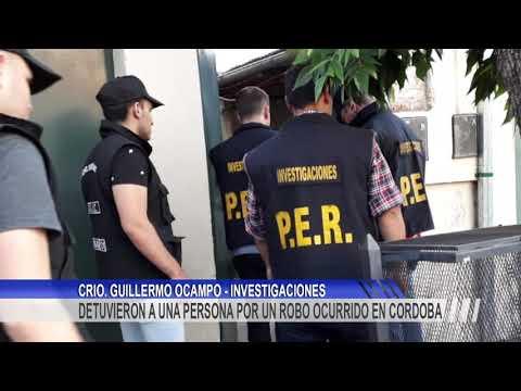 Detuvieron a un hombre por haber robado celulares y tablets en Córdoba