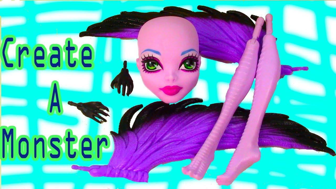 Monster High Create a Monster Harpy Create a Monster High Harpy