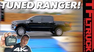 You'll Be Surprised How Much Quicker This New Ford Ranger Is With a Tune!