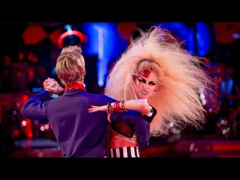 Pixie Lott & Trent Whiddon Tango to 'Danger! High Voltage' - Strictly Come Dancing: 2014 - BBC One