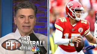 How Patrick Mahomes is preparing for San Francisco 49ers' defense | Pro Football Talk | NBC Sports