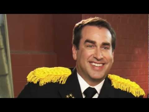 Rob Riggle is the President of the Navy