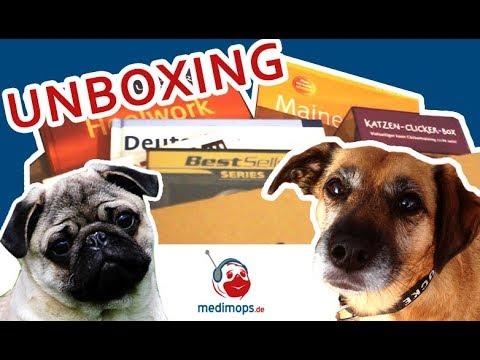 Medimops Unboxing ♥ Hunde & Katzen Bücher ♥ Rabattaktion
