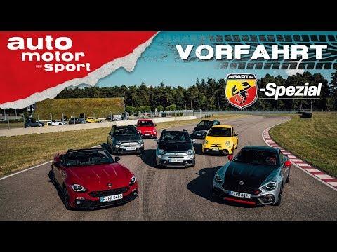 Abarth-Spezial: Was Können Die Skorpione? - Vorfahrt (Review) | Auto Motor Und Sport