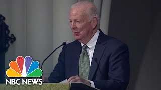 Full Speech: Jim Baker Chokes Up In Eulogy To George H.W. Bush | NBC News