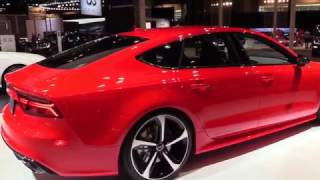 2017 Audi RS 7 Performance Limited Red | Exterior and Interior | First Impression | Look in HD
