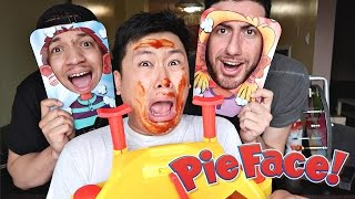DANGEROUS PIE FACE CHALLENGE!! (LOSER GETS PUNISHED)