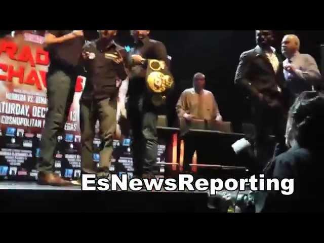 jose benavidez vs mauricio herrera faceoff EsNews boxing