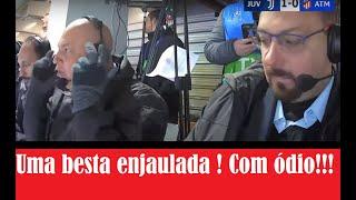 """Cristiano Ronaldo faz 3 gols contra o Atlético de Madrid """"Uma besta enjaulada ! Com ódio ! """""""