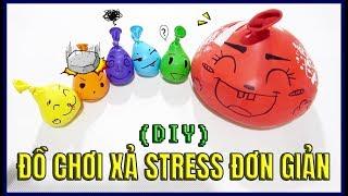 ĐỒ CHƠI XẢ STRESS ĐƠN GIẢN LÀM TỪ BONG BÓNG!- [MAKING BALLOON TOY!]
