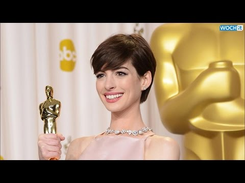"""Anne Hathaway Poses Topless, Talks """"Pointy Nipples"""" And Haters In Harper's Bazaar thumbnail"""