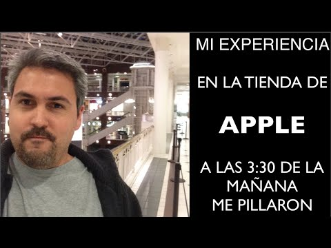 Iphone 6 mi experiencia en la tienda Apple, Me PILLARON