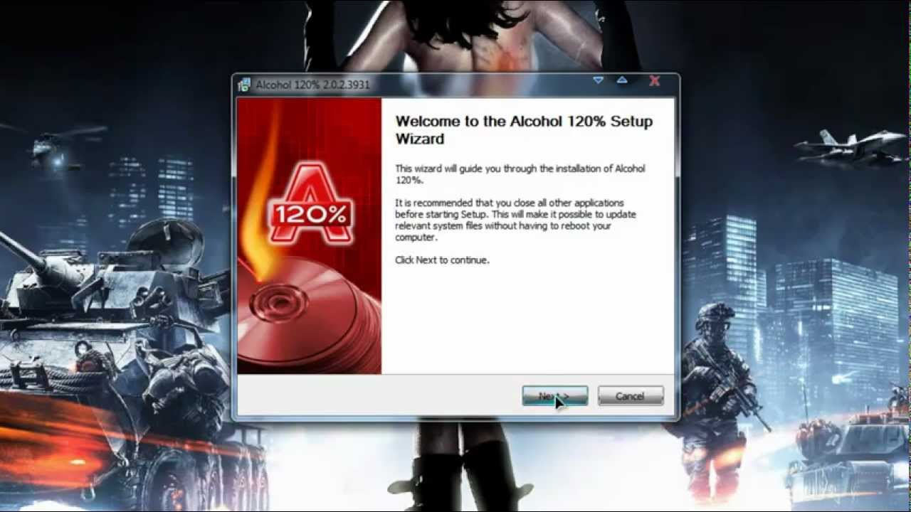 Alcohol 120% 2.0.2 Latest Version CRACK.