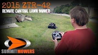 2015 ZTR-42 Remote Control Lawn Mower