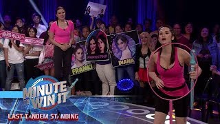 Mega Bubble | Minute To Win It - Last Tandem Standing