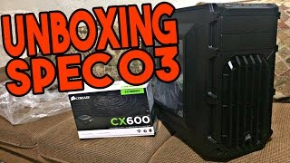 GABINETE CORSAIR SPEC 03 SERIES CARBIDE - UNBOXING - VALIDANDO RECOMPENSA