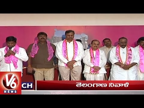 1 PM Headlines | Rythu Bheema Certificates Distribution | Prof Jayashankar Birth Anniversary| V6