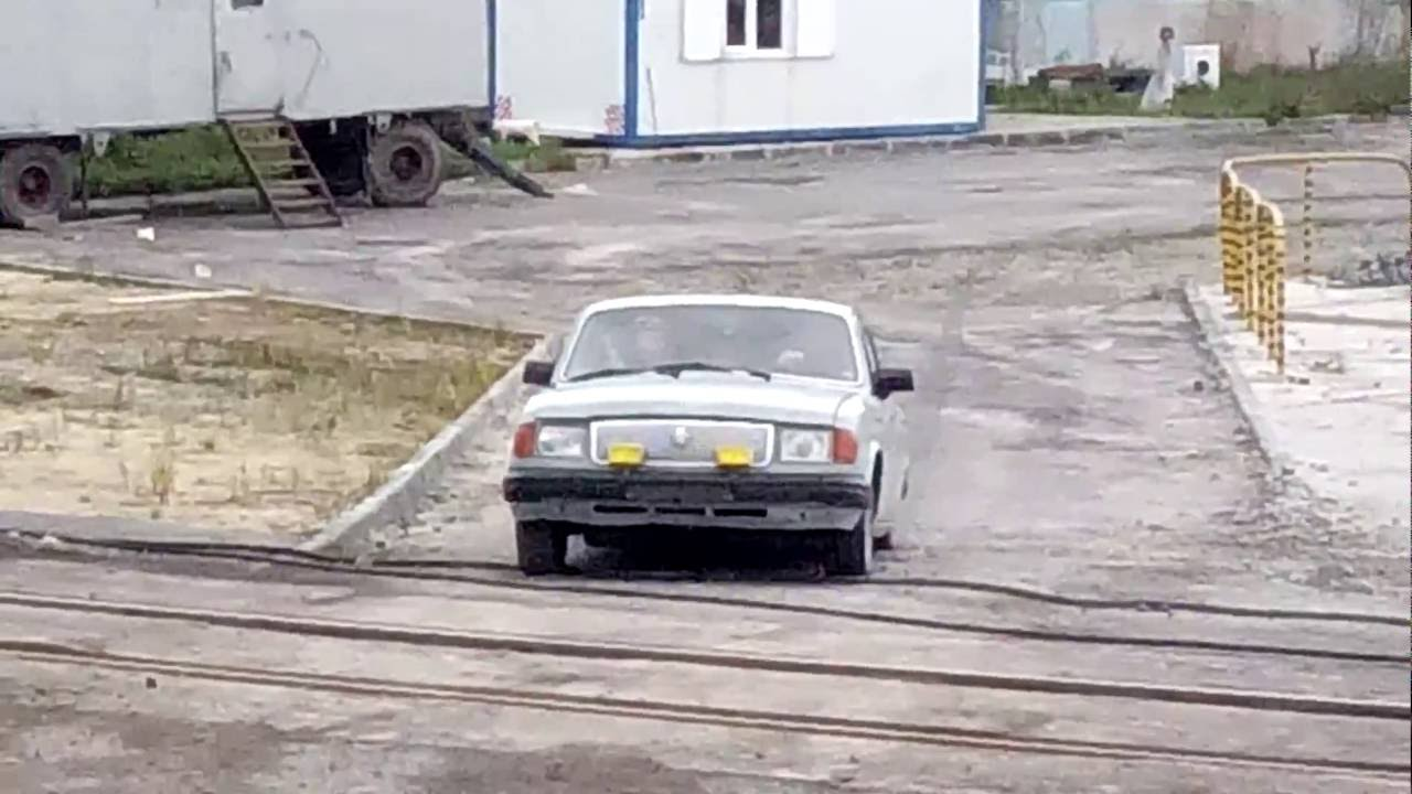 Just A Typical Commute To Work In Russia