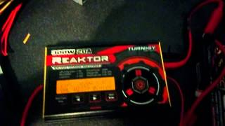 Super charging a 2s LiPo battery with 20 amps 10-90% in 15 mins on Turnigy Reaktor