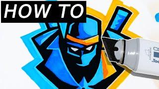 All Clip Of Ninjas Logo Drawing Tutorial Bhclip Com
