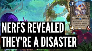 Standard/Wild Nerfs Announced and they're not good | Ashes of Outland | Hearthstone
