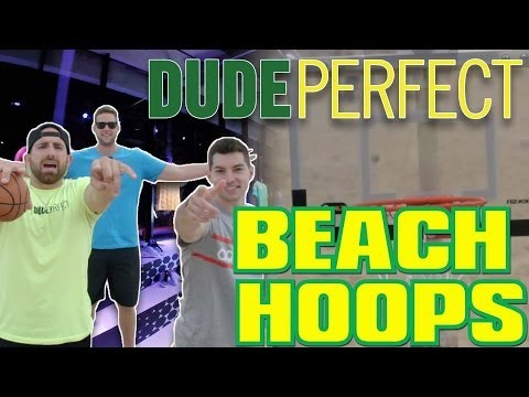 Dude Perfect Creates A New Sport!