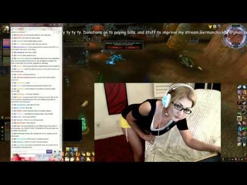 Twitch attention whore: Mia Rose Twerk