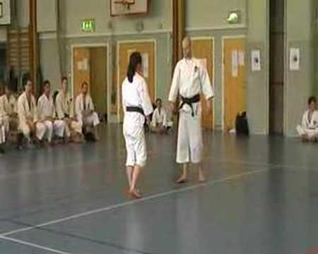 Shorinjikempo technique demonstration Image 1