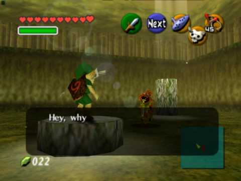 Legend of Zelda Ocarina of Time Walkthrough 06 (5/6) Masks & Forest Stage Guide