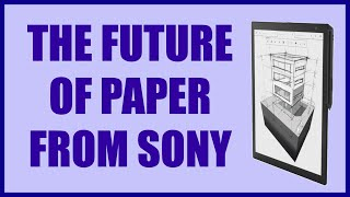 Sony Digital Paper Tablet DPT-RP1 -- REVIEW