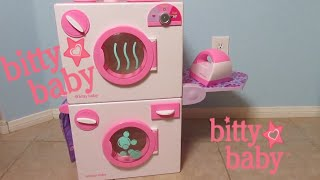 VIDEO FROM BITTY BABY CHANNEL: AMERICAN GIRL BITTY BABY Washing Machine and Dryer Unboxing