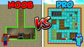 Minecraft NOOB vs. PRO: SECRET HOUSE 2 in Minecraft!