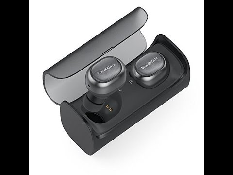 SoundPeats Q29 Wirelesss EarBuds V4 1 Bluetooth Headphones with Charging Case 12 Hours Stereo Music