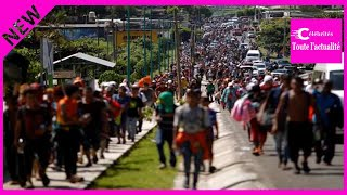 Honduras : une immense caravane de migrants traverse le Mexique pour atteindre les Etats-Unis