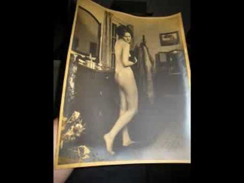 AAA Allen Boudoir Photos 1920s 11x14 (HUGE!)