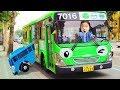 타요 로기 버스타고 다같이 버스여행 가요~! 치카치카 양치송외 인기동요 10분 모음 Wheels on the Bus & Kids Songs