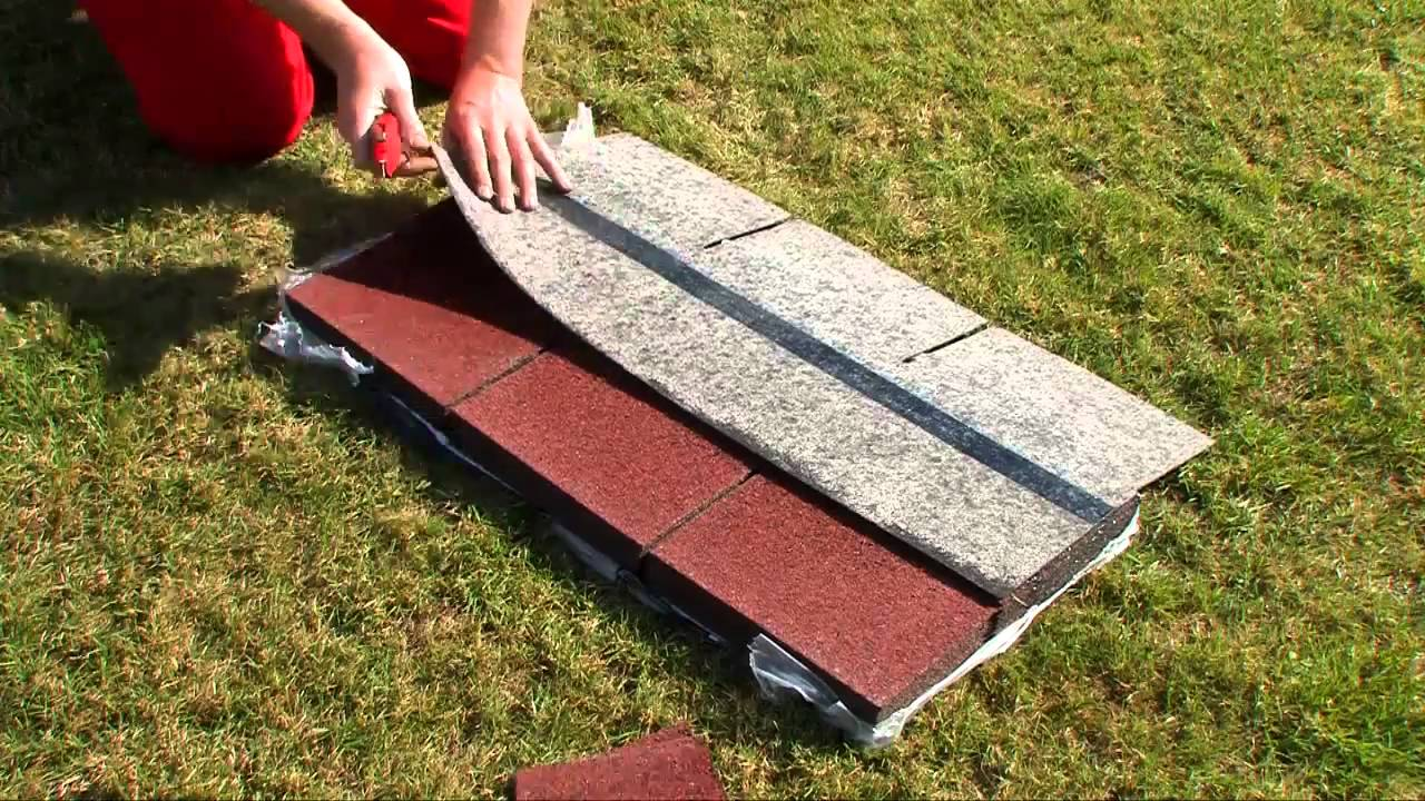 ... het-zelf: Hoe Easy Shingles verleggen op je dak (tuinhuis)? - YouTube