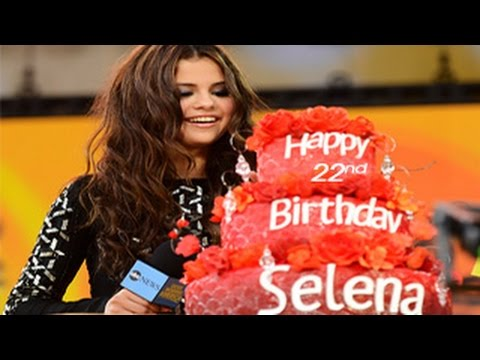 Selena Gomez - Happy 22nd Birthday & a Special Video just for Selena Gomez