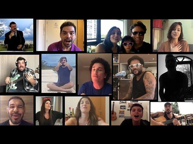 Família e amigos cantam em Homenagem ao Caio, pelo seu aniversário no próximo dia 15!