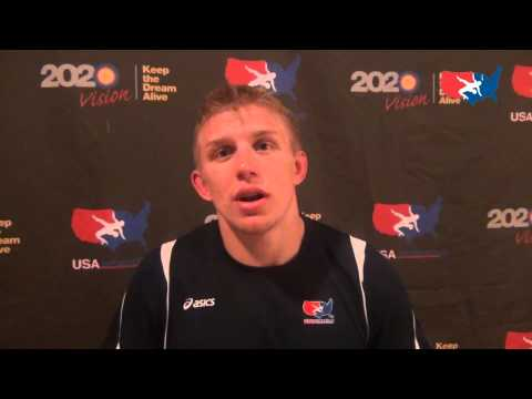 Kyle Dake after win over Iran at the Rumble On The Rails in Grand Central Terminal