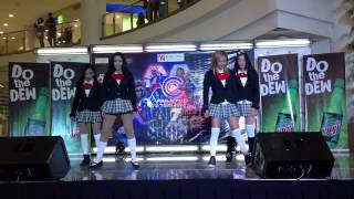 Raindrop at the 7th Philippines Cosplay Convention (1st performance)