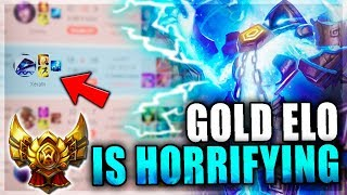 GOLD ELO IS HORRIFYING | Mid Lane to Diamond #4 - League of Legends